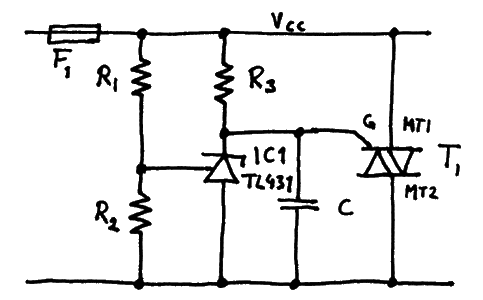 Precision crowbar  circuit 2