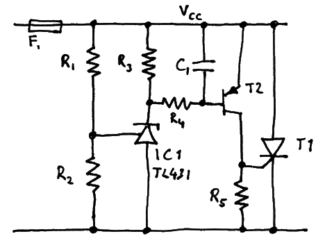 Precision crowbar  circuit 3