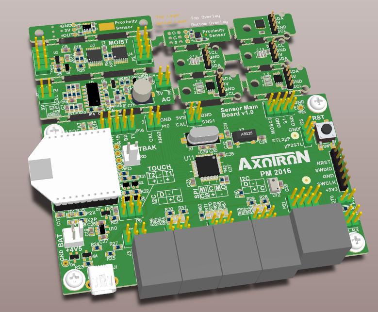 Sensor node board v 1.0.