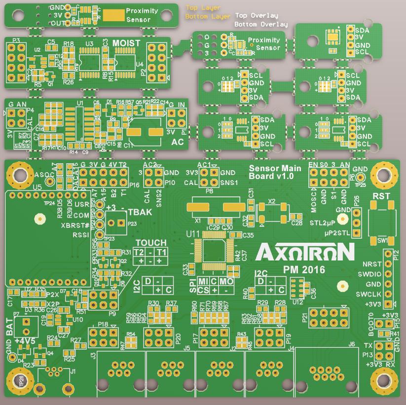 Initial PCB design